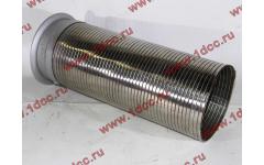 Гофра-труба выхлопная 6х4 с юбкой H2/H3 фото Севастополь