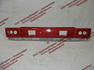 Бампер H красный самосвал металлический HOWO (ХОВО) WG1641240001 фото 1 Севастополь