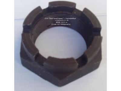 Гайка передней ступицы левая резьба (на цапфу) H2/H3 HOWO (ХОВО) AZ9100411140