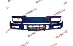 Бампер C синий верхний+нижний (в сборе) фото Севастополь