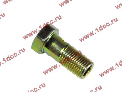 Болт пустотелый М10х1,0 (штуцер топливный) H HOWO (ХОВО) 81500070054 фото 1 Севастополь
