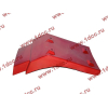 Брызговик передней оси правый H2 красный HOWO (ХОВО) WG1642230004 фото 3 Севастополь