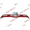 Бампер F красный пластиковый FAW (ФАВ) 2803010-436 для самосвала фото 3 Севастополь