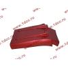 Брызговик передней оси правый H3 красный HOWO (ХОВО) WG1642230104 фото 4 Севастополь
