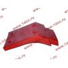 Брызговик передней оси правый H2 красный HOWO (ХОВО) WG1642230004 фото 4 Севастополь